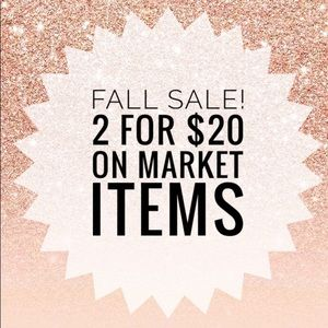 Fall Sale!!! 2 for $20 on Marked 💖 Items.
